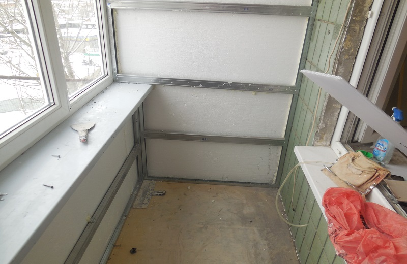 Утеплить балкон ютуб