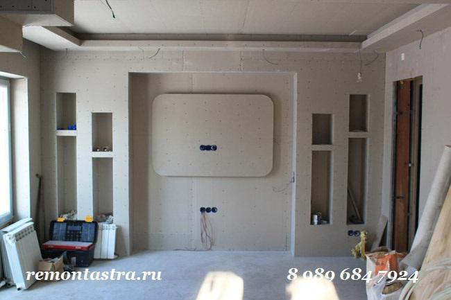 Гипсокартон ремонт своими руками стены